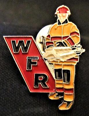 W F R WHOLESALE FIRE & RESCUE EQUIPMENT ALTA. CAN. FIREFIGHTING TOOLS Pin