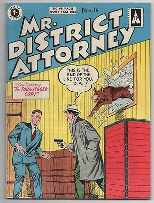 Mr. District Attorney #16, 1955 (Thorpe & Porter) 68 pages