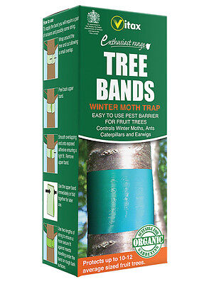 Vitax Tree Bands for Fruit Trees Pest Barrier Winter Moth Trap
