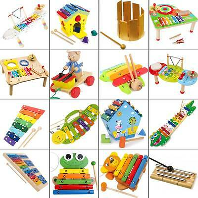 Xylophone Selection musical Early education playful made of wood from 1 year New