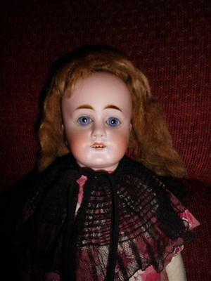 Antique Bisque Shoulder head Unmarked..RARE Beautiful Early doll