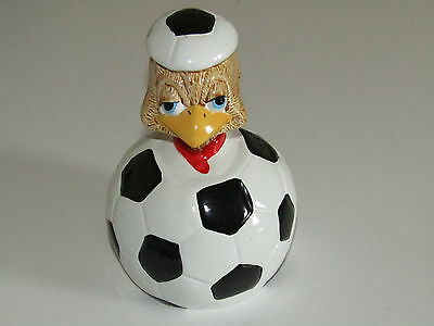 EGGBERT by Cavalcade resin money box moneybox football winger eggy bank EB02