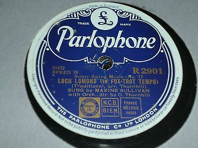 """Collection Lot of 5x Various JAZZ 10"""" 78RPM Gramophone Records 6/20"""