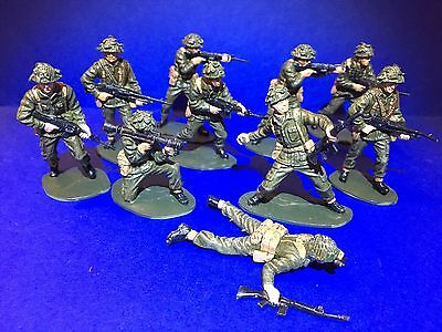 Soldatini Airfix  1/32  Dipinti Modern British Infantry Painted Toy soldiers