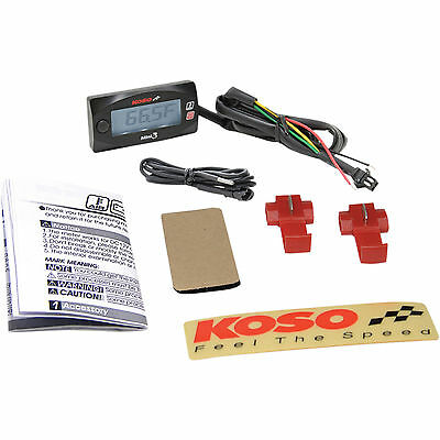 Koso Temperature Meter Black Each 2212-0553 BA003270 NORTH AMERICA AMBIENT TEMP