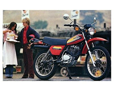 1979 Honda 185 XL185 Motorcycle Factory Photo ca6635