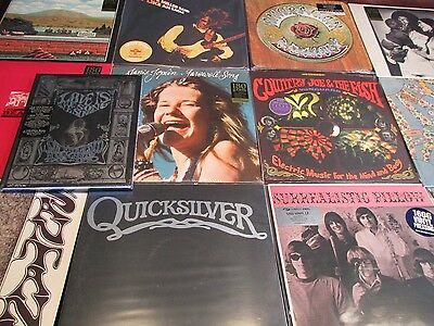San Francisco Nuggets 4 Cd Book + Vinyl Set Airplane Santana Steve Miller +13Lps