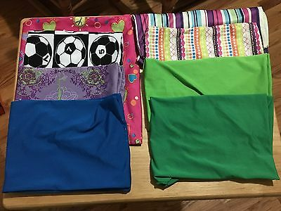 Lot Of 8 Cloth Book Covers
