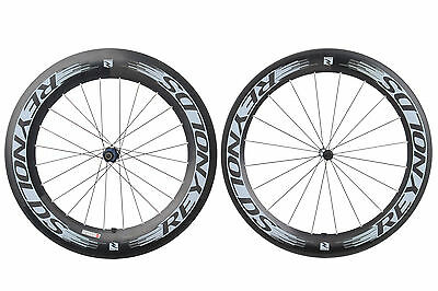 Reynolds 72 / 90 Aero Road Bike Wheel Set 700c Carbon Clincher Shimano 11 Speed