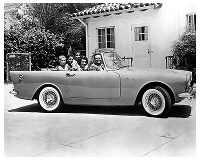 1961 Sunbeam Alpine Factory Photo ub0358