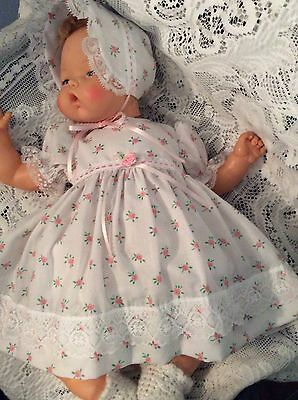 """Doll Clothes for 19""""/20"""" Large Thumbelina """"Sweet In Pink Dress Set"""" by Maureen"""