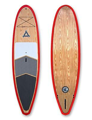 "Triple X Epoxy 11' 1"" ROVER Stand Up Paddle Board/Pine/Red"