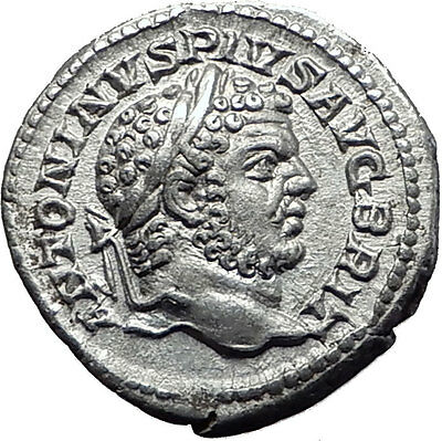 CARACALLA 215AD Rome Silver Authentic Ancient Roman Coin Julia Domna i61514