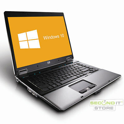 HP Compaq 6730b Notebook Intel Core2 Duo 2x 2,66 GHz 4 GB RAM 160 GB HDD Win10