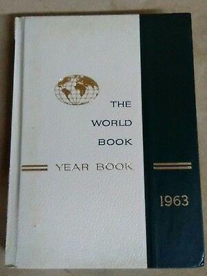 Vintage The world Book Year book 1963 encyclopedia