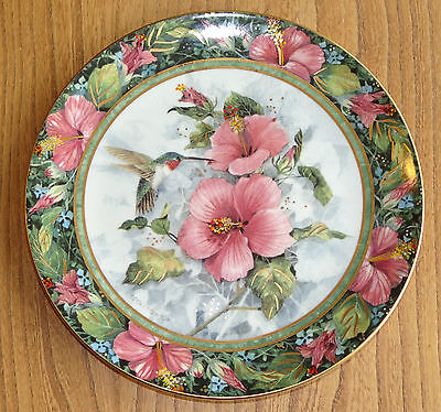 Royal Doulton Franklin Mint Plate - THE IMPERIAL HUMMINGBIRD