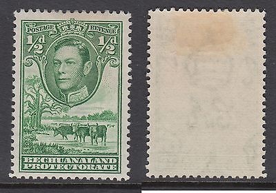 Bechuanaland Protectorate KGVI 1/2d MM Stamp per scans