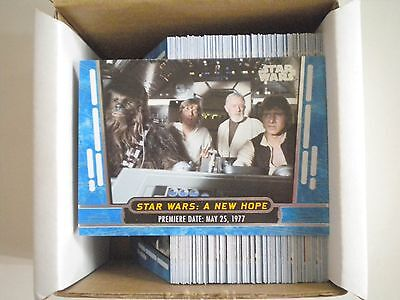2017 Topps Star Wars 40th Anniversary Blue Pick Any 10 Cards Complete Your Set