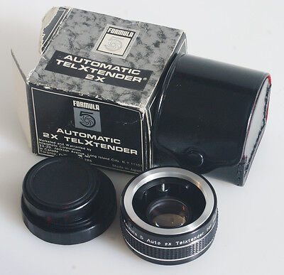 2X Teleconverter For Pentax In Box With Case/Caps