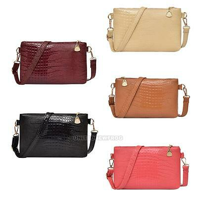 Fashion Women PU Leather Satchel Handbag Shoulder Tote Messenger Crossbody Bag