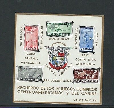 Panama 1938 UMM Air. Central American & Caribbean Olympic Games MS 339