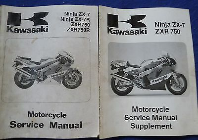Kawasaki ZX750-J1 And K1 Workshop Service Manual