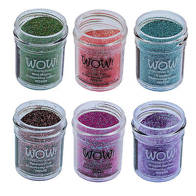 Wow! Glitter Embossing Powder 15ml - Colours 01 to 30