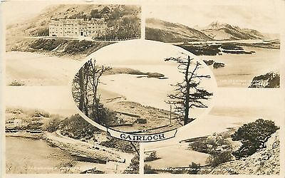 s08753 Gairloch, Ross & Cromarty, Scotland RP postcard unposted