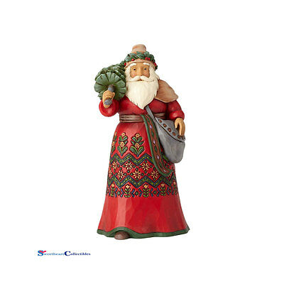 Jim Shore Around the World Heartwood Creek 4058791 Sweden Santa 2017