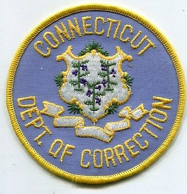 CONNECTICUT Deptment of Correction Police Patch