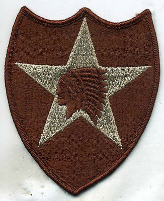 US Army 2nd Infantry Division Patch DCU Desert Tan