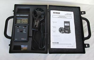Extech 451112 Thermo Anemometer Field Master In Original Case