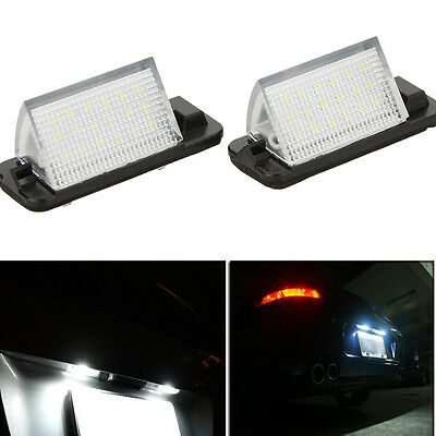 Lights Lighting Plate White Led Xenon Bmw E36 All Models