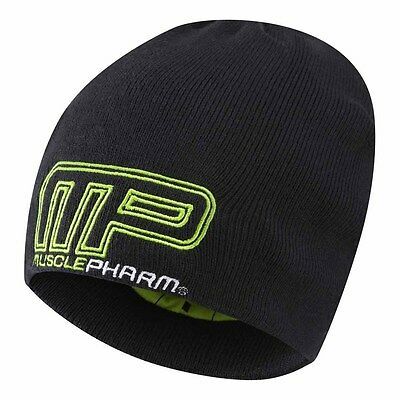 Musclepharm Knitted Beanie Hat One Size Black I Gorras