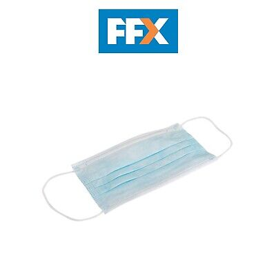 Silverline 986012 3 Ply Disposable Face Masks 50 pack