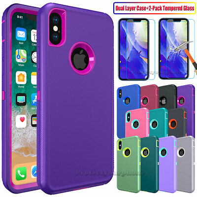 For Apple iPhone 6 6S 7 Plus Case Ultra Hybrid Shockproof Protective Hard Cover