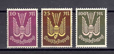 853-GERMAN EMPIRE-AIRMAIL Set MNH.Michel.235-237.DEUTSCHES REICH.DEUTSCHLAND.