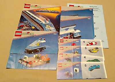 LEGO Instruction Manuals Only City 4561 Railway Express Train