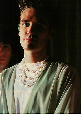 """1984 The Smiths """"The Post Cool School"""" Vintage 2 pg U.K. Photo Article"""