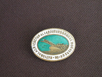 Old National Agricultural Labourers & Rural Workers Union Lapel Badge c 1920s