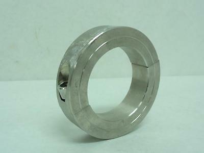 "166302 Old-Stock, Climax 2C-250-S Shaft Collar, SS, 2-1/2"", Two Piece"