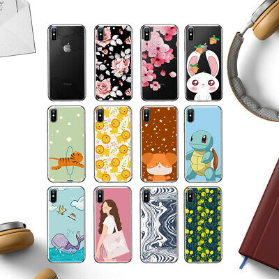 Cover Custodia Morbida Patterned Soft Case For iPhone SE 5 6S 7 8 Plus XS MAX XR
