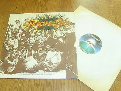 Rave On  - 1974 Mooncrest  vinyl lp - Steeleye Span - Shirley Collins +
