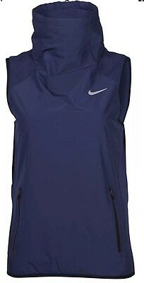 Nike Women's AeroLayer Vest Navy 809260-451 Size M