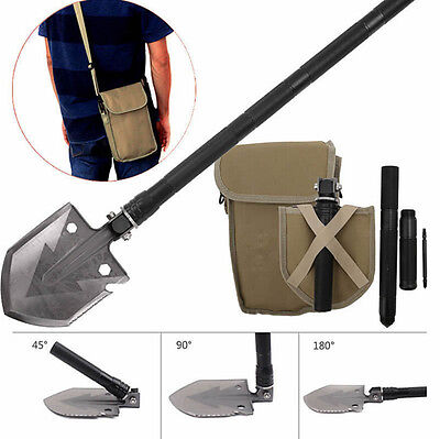 Tactical Multi-tool Folding Shovel Camping Outdoor Survival Trenching Spade Tool