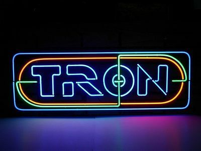 """New Tron Movie Fiction Man Cave Beer Pub Bar Store Neon sign 17""""×10"""""""