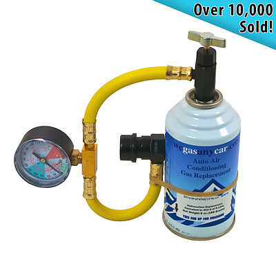 Universal Aircon Top up Recharge Gas Refill Kit for Jaguar cars