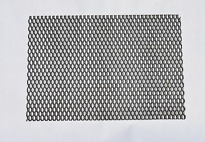 "MMO coated expanded titanium mesh anode - 6-3/4"" x 10"""