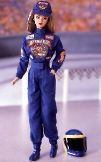 50th Anniversary Nascar 1998 Barbie Doll Collector Edition