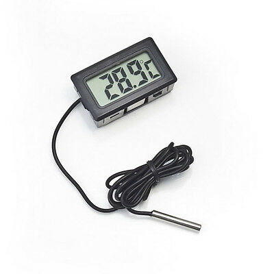 Tester Car Temperature Thermometer Digital LCD 1m Probe Temp Sensor